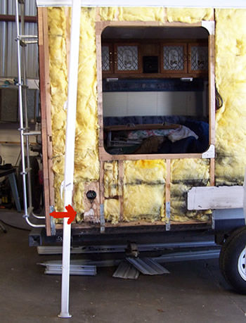 Dry Rot can destroy your Motorhome, Fifth Wheel or Travel Trailer!